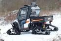 Zimní test - Linhai UTV 1100 Diesel