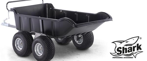 Dvounápravový ATV vozík GARDEN 4Wheel nyní s vyšší nosností
