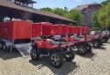 Čtyřkolky Access MAX 800i pro polské hasiče