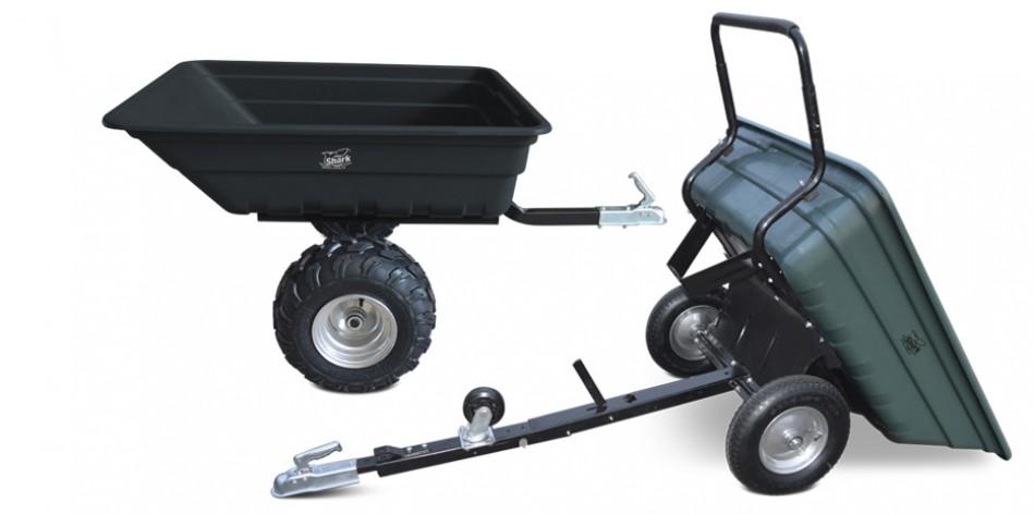 Lehké hobby vozíky Garden 150 / 300