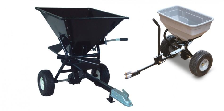 Posypové vozíky 60 kg / 160 kg